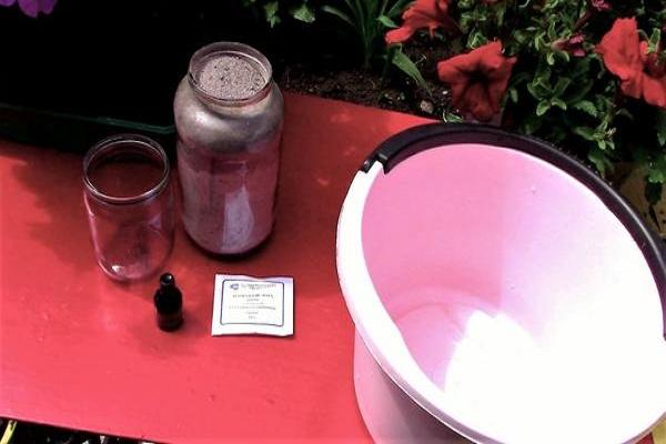 Подкормка золой и борной кислотой помидор